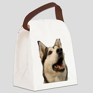 The Alaskan Husky Canvas Lunch Bag