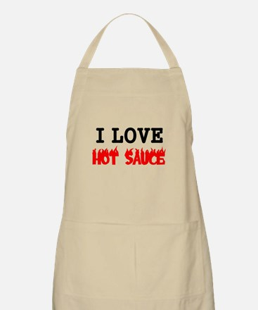I LOVE HOT SAUCE 2 Apron
