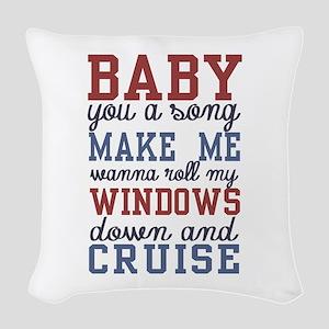Cruise Woven Throw Pillow