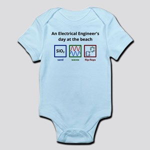 An Electrical Engineers day at the beach Body Suit