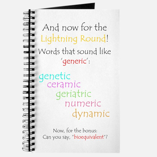 Can you say 'generic'? Journal