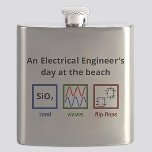 An Electrical Engineers day at the beach Flask