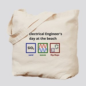 An Electrical Engineer's day at the beach Tote Bag