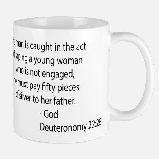 Deuteronomy 22.28 Mug