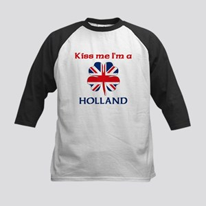 Holland Family Kids Baseball Jersey
