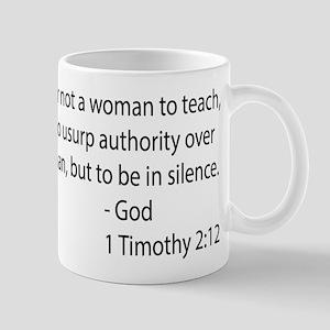 1Timothy 2:12 Mug