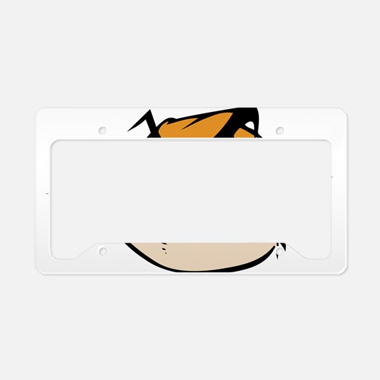 Grumpy Cat License Plate Holder