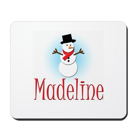 Snowman - Madeline Mousepad