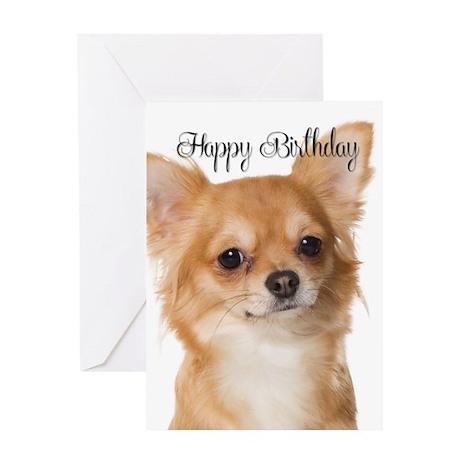 Chihuahua Birthday Card By Shopdoggifts