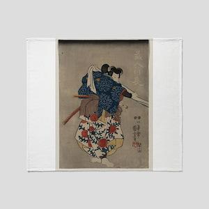 Kunisada Utagawa - Kurando Yukinaga - 1848 - Woo T