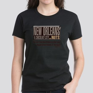NOLA: A Chocolate City Women's Dark T-Shirt