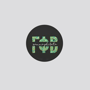 Gamma Phi Beta Letters Emoji Mini Button