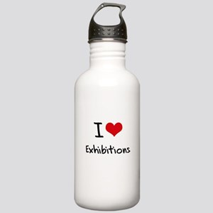 I love Exhibitions Water Bottle