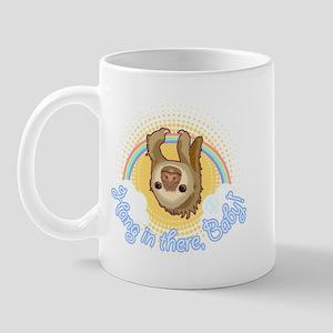 Hang In There Sloth Mug