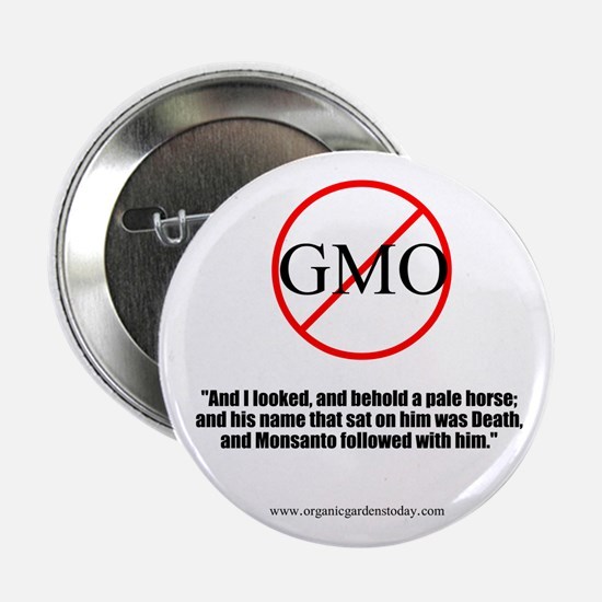 "NO GMO 2.25"" Button (10 pack)"