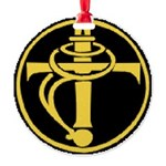 TBF Round Ornament