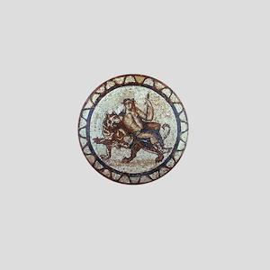 Bacchus God of Wine Mini Button
