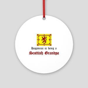 Happy Scottish Grandpa Ornament