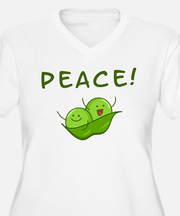 Peace Plus Size T-Shirt