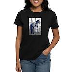 Friesian Crazy Women's Dark T-Shirt