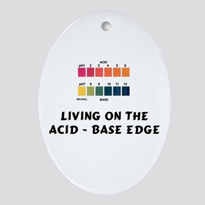Acid - Base Oval Ornament