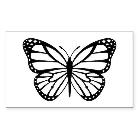 Monarch Sticker (Rectangle)