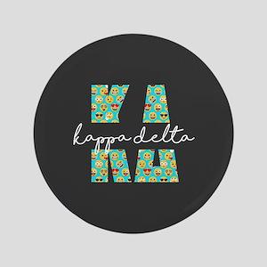 Kappa Delta Letters Emoji Button