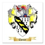 Chenier Square Car Magnet 3