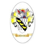 Chenier Sticker (Oval 50 pk)