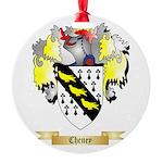 Cheney Round Ornament