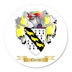 Cheney Round Car Magnet