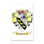 Chenery Rectangle Car Magnet