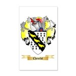 Chenelot 20x12 Wall Decal