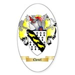 Chenel Sticker (Oval 10 pk)