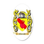 Chenaud Oval Car Magnet
