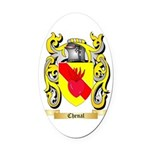 Chenal Oval Car Magnet