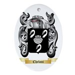 Cheloni Ornament (Oval)