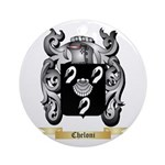 Cheloni Ornament (Round)