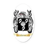 Chelon Oval Car Magnet