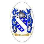 Cheine Sticker (Oval 50 pk)