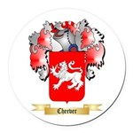 Cheever Round Car Magnet