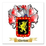 Cheetham Square Car Magnet 3