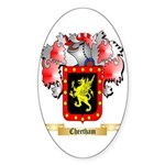 Cheetham Sticker (Oval 50 pk)