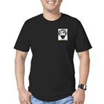 Cheesman Men's Fitted T-Shirt (dark)