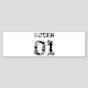 King and Queen shirts Bumper Sticker