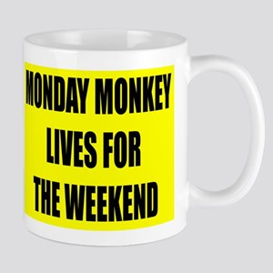 Monday Monkey Mug
