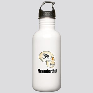 Three Percent Neanderthal Water Bottle