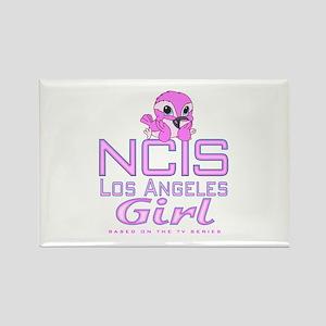 NCIS LA Girl Rectangle Magnet
