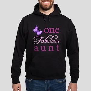 One Fabulous Aunt Hoodie (dark)