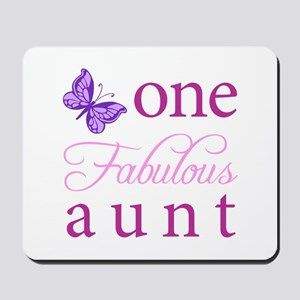 One Fabulous Aunt Mousepad